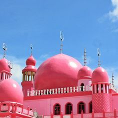 Pink Mosque - Masjid Dimaukom (Datu Saudi Ampatuan/ The Philippines)