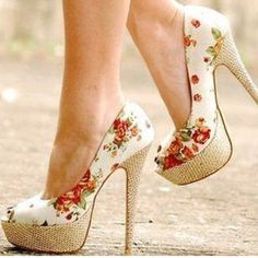 ~~floral high high heels~~