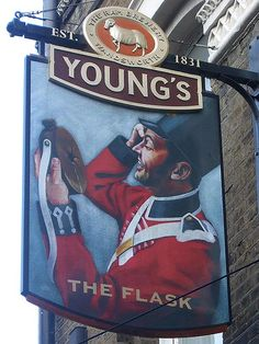 Flask - Pub Sign