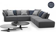Cloud Modular Sofa, with L and U shape options - Modern Design - Delux Deco UK Modular Sofa Uk, Leather Modular Sofa, Modular Corner Sofa, L Shaped Sofa Designs, Sofa Set Designs, Corner Sofa Uk, L Corner Sofa Design, Living Tv, Living Area