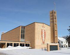 First Lutheran Church, Brookings. South Dakota Synod, ELCA. Evangelical Lutheran Church in America.