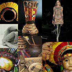 Painel Cultura Indígena Brasileira