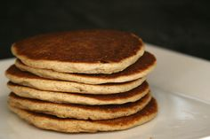 """Soaked whole grain pancakes {gluten free options} are a great breakfast option and the additional """"soaking"""" time helps make them more nutritious."""