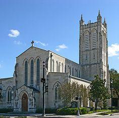 Trinity Episcopal Church, Midtown Houston, TX