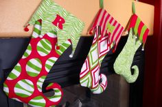 12 Christmas stocking patterns