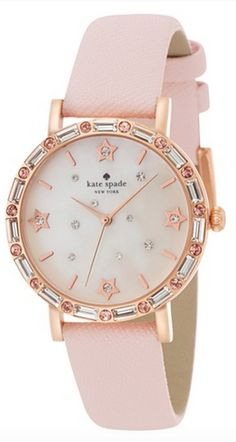 Kate Spade leather strap watch