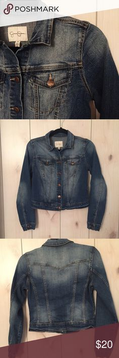 🆕Jessica Simpson Denim Jacket Beautiful denim jacket from Jessica Simpson. In excellent condition. Jessica Simpson Jackets & Coats