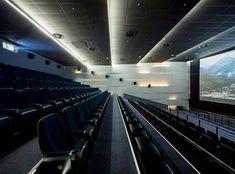 Multiplex Atmocphere cinema by Sergey Makhno on Interior Design Served Luxury Movie Theater, Cinema Movie Theater, Home Theater, Architecture Building Design, Light Architecture, Theatrical Scenery, Archi Design, Theatre Design, House Elevation