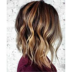 Honey Lob. Color by @mikaatbhc  #hair #hairenvy #haircolor #hairstyles #lob #bob…