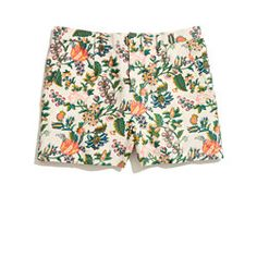 Tailored Shorts in Garden Vine @ madewell.com
