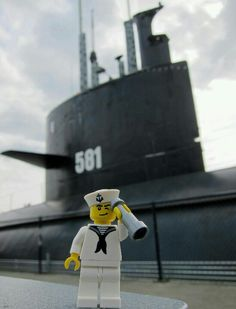 US Navy sailor Lego