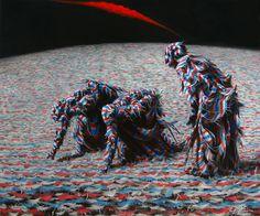 """Saatchi Art Artist Guokaijun Guokaijun; Painting, """"The grain collector"""" #art"""