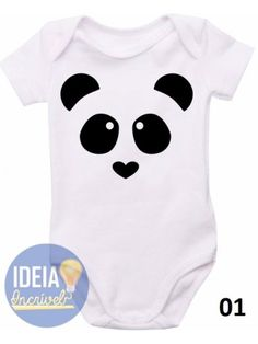 Body infantil - Panda Dad Baby, Mom And Baby, Baby Girl Boutique, Baby Body, Cute Baby Girl, T Shirt Diy, Baby Sewing, Boy Outfits, Couture