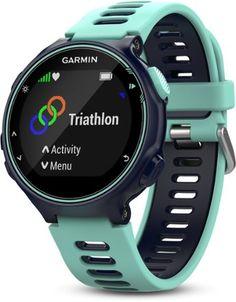 Garmin Forerunner 735XT Heart Rate Monitor Watch Midnight Blue/Frost Blue Regular