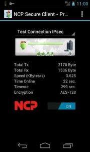 Erster universeller IPsec VPN Client für Android