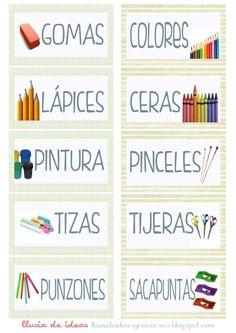 """Pack descargable """"Decora y organiza tu aula"""" para Educación Infantil Bilingual Classroom, Classroom Labels, Classroom Language, Classroom Posters, Spanish Classroom, Head Start Classroom, Classroom Setup, School Classroom, Classroom Organization"""