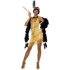 Goddessey Llc Women's Dazzling Flapper Costume