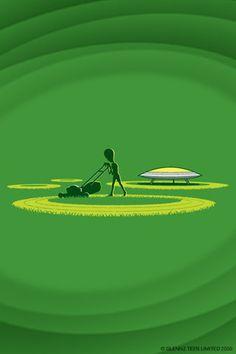 Crop Circles  Por Gleen Jonez
