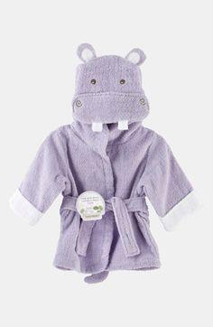 Baby Aspen 'Hug a Lot Amus' Hooded Robe (Baby) | Nordstrom