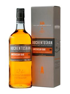 """Auchentoshan American Oak, Scotch Whisky:The best known of the generally overlooked Lowland distilleries, Auchentoshan is the only Scottish distillery exclusively making triple distilled whisky, with a resulting reputation for being """"light."""" But this recent family addition is the first aged in American Oak first-fill former bourbon barrels (the distillery's parent also owns JimBeam, Knob Creek and Maker's Mark). While still on the lighter side – as in very smooth – it has plenty of…"""