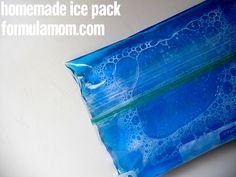 Cheap DIY Homemade Ice Pack