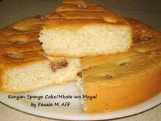 Kenyan Sponge Cake/Mkate wa Mayai - Fauzia's Kitchen Fun Bbq Beef Brisket Recipe, Cake Recipes, Dessert Recipes, Sweet Desserts, Yummy Recipes, Incredible Recipes, Thinking Day, Sponge Cake, Savoury Cake