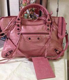 Balenciaga Classic City Bag Pink