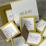 Super cute gift idea. They contain 30 cards with inspirational quotes!