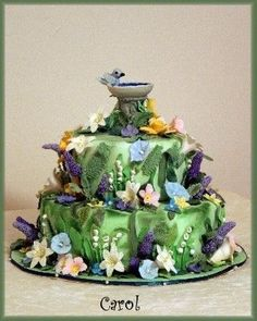 Wedding Cake Pictures by Stover's