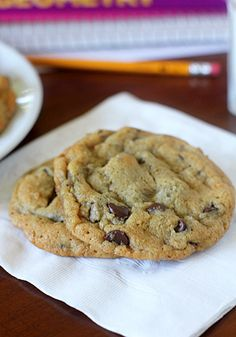 The Galley Gourmet: Chocolate Chip Cookies
