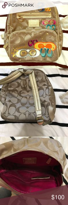 Coach Backpack Medium to large size Coach backpack. Coach Bags Backpacks