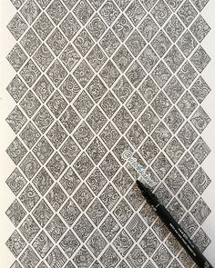 Visoth Kakvei (Cambodia) | intricate ink and pencil drawing