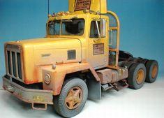 International Paystar 5000 Cool Trucks, Big Trucks, Plastic Model Kits, Plastic Models, Pick Up, Peterbilt, Model Truck Kits, International Harvester Truck, Truck Scales