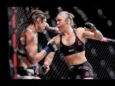 UFC 190: Ronda Rousey Octagon Interview - YouTube