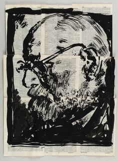 William Kentridge, 'Drawing for 'Lulu',' 2014, Marian Goodman Gallery