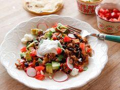 Lighter Taco Skillet recipe from Ree Drummond via Food Network