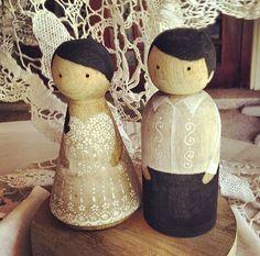 Customized Filipino Wedding Cake Toppers