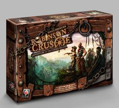 Robinson Crusoe: Adventure on the Cursed Island - A cooperative survival game that I am convinced is nearly impossible.  So why do I keep wanting to play it?