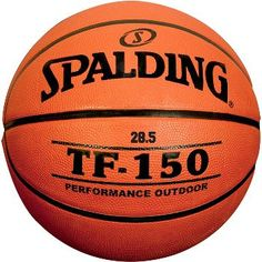 """Spalding TF-150 Youth Rubber Basketball (27.5"""")"""