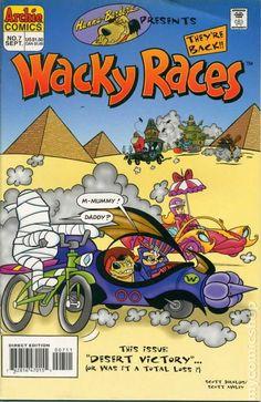 Hanna-Barbera Presents (1995) 7 Archie Comics Wacky Races cartoon express tv book covers kids funny comedy