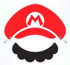 official Mario paper cut-out by Nintendo Super Mario Party, Super Mario Bros, Bolo Super Mario, Super Mario Birthday, Mario Birthday Party, Super Mario Brothers, Mario Kart, Mario Und Luigi, Mario Bros.