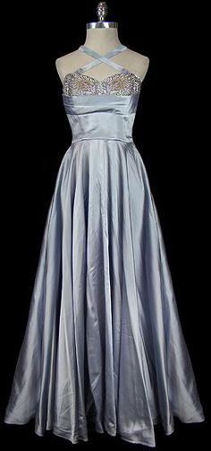 Norman Hartnell 1950s Gown