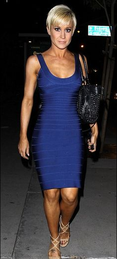 Herve Leger London: @kelliepickler looked fantastic in the classic #HerveLeger SYDNEY tank dress last night at @BootsyBellows