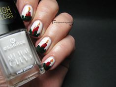 Adventskranz Nail Art