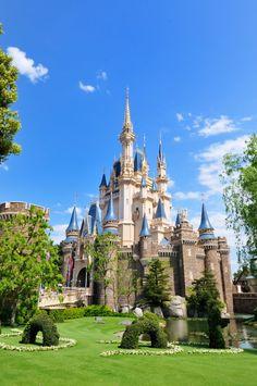 Cinderella's Castle Disneyland Tokyo
