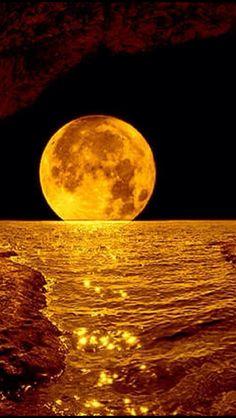 Moon Images, Moon Photos, Full Moon Pictures, Beautiful Nature Wallpaper, Beautiful Moon, Scenery Wallpaper, Wallpaper Backgrounds, Arte Do Sistema Solar, Image Zen