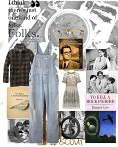 """""""To Kill a Mockingbird"""" by classicgal ❤ liked on Polyvore"""