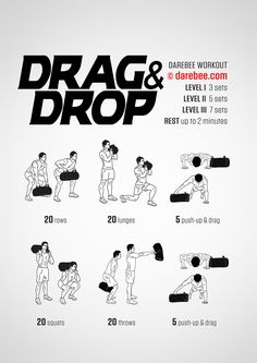 NEW: Drag & Drop Workout #fitness #workout #darebee