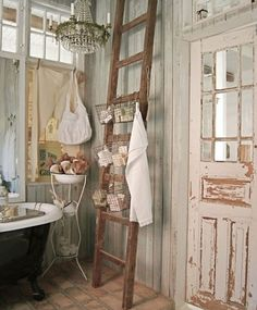 country chic decorating | ivory, Shabby Chic also takes it's influence from French country style ...