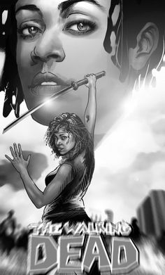 Michonne - The Walking Dead - Mehdi Cheggour